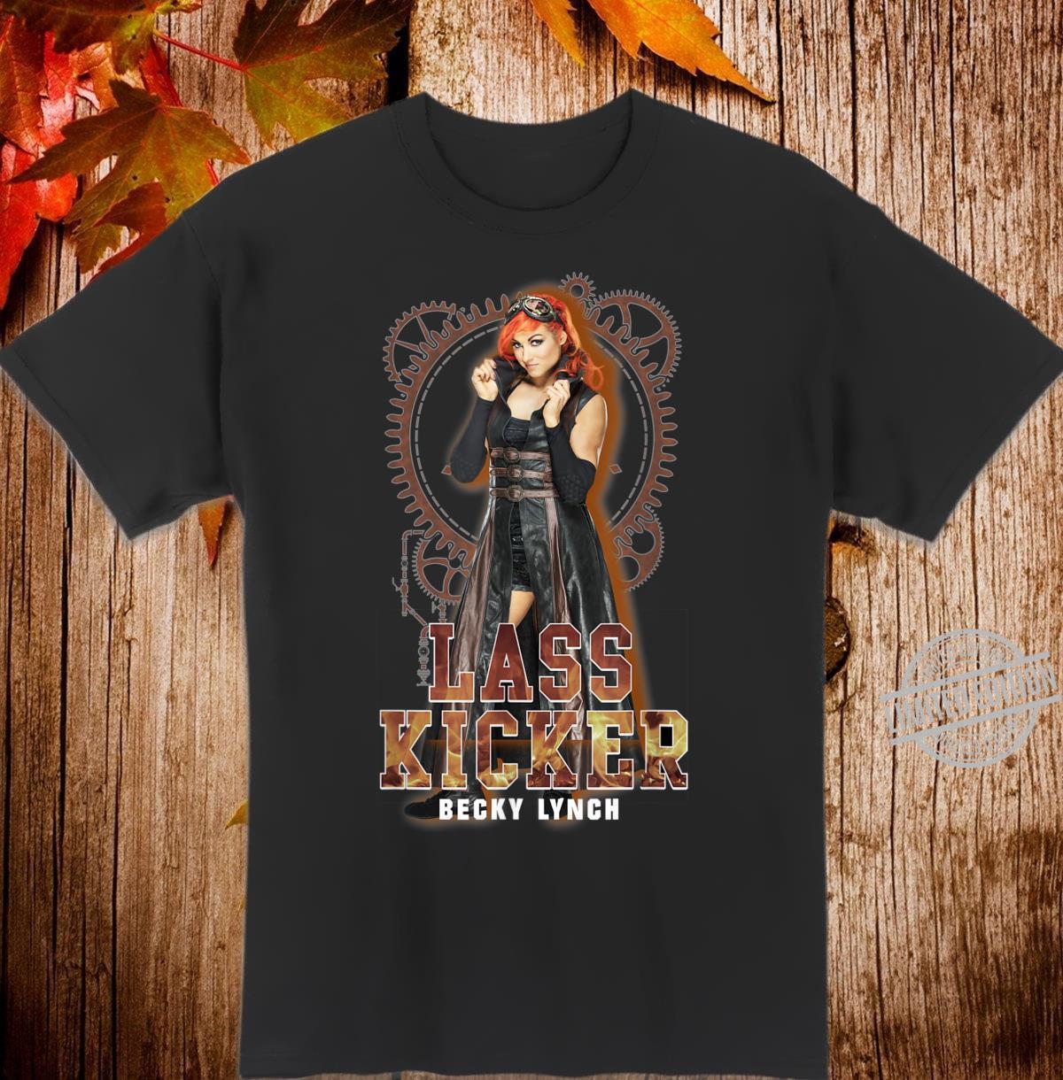 WWE Becky Lynch Photo Lass Kicker Shirt