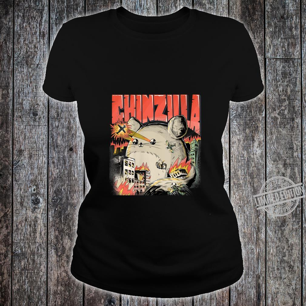 Womens CHINZILLA Cool For Chinchilla Owners Chinchillas Shirt ladies tee