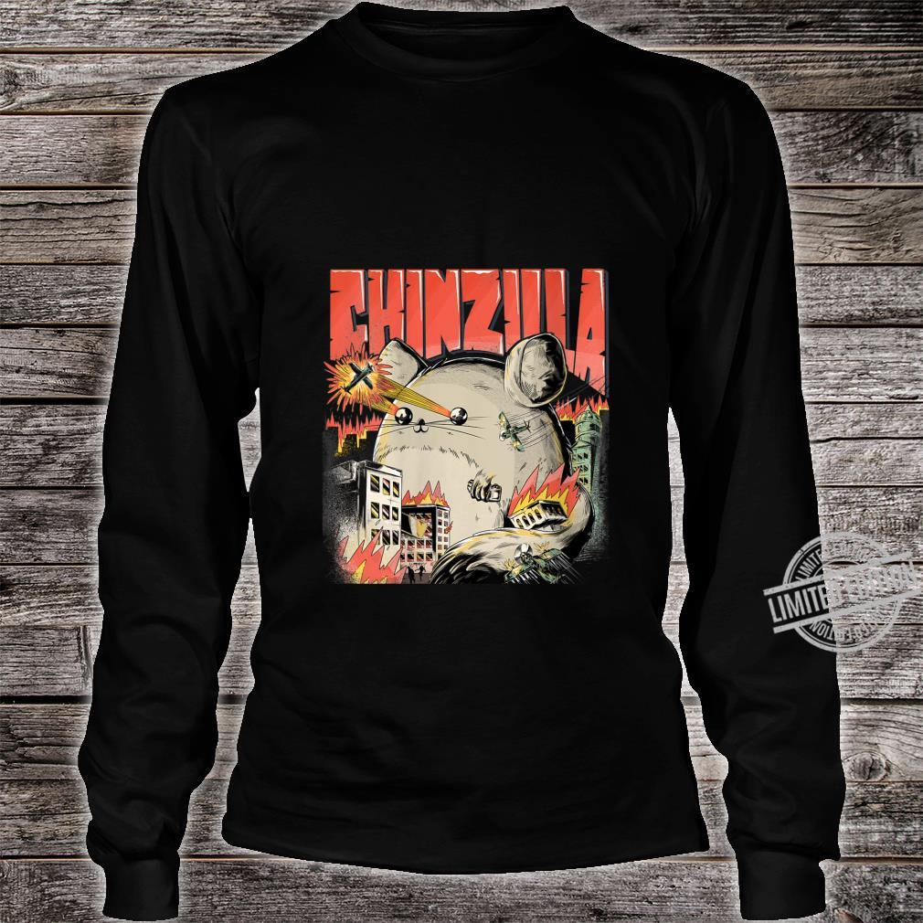 Womens CHINZILLA Cool For Chinchilla Owners Chinchillas Shirt long sleeved
