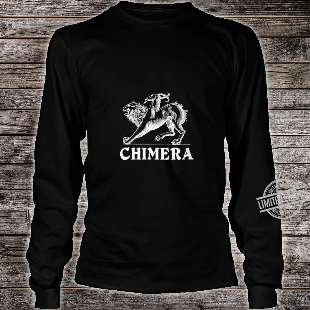 Womens Chimera Greek Mythology Logo Shirt long sleeved