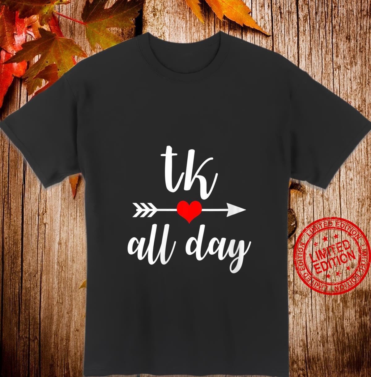 Womens TK All Day Transitional Kindergarten Shirt